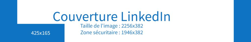 La couverture LinkedIn, au format 2256 x 382 pixels.